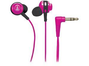 Audio-Technica Pink ATH-COR150PK Binaural Headphone/Headset