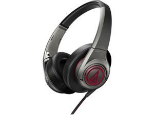 Audio-Technica ATH-AX5 SonicFuel Over-ear Headphones - Gunmetal Grey