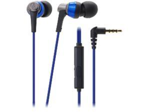 Audio-Technica ATH-CKR3iS SonicPro In-ear Headphones with In-line Mic & Control - Blue