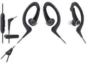 Audio-Technica ATH-SPORT1 SonicSport In-ear Headphones - Black