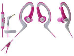 Audio-Technica ATH-SPORT1 SonicSport In-ear Headphones - Pink