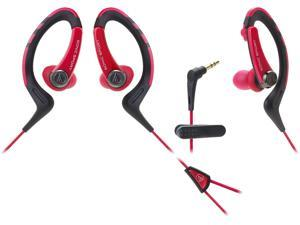 Audio-Technica ATH-SPORT1 SonicSport In-ear Headphones - Red