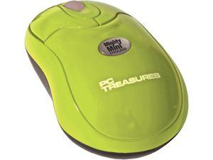 PC Treasures Wireless 2.4GHz Mighty Mini Mouse 07226 Green RF Wireless Mouse