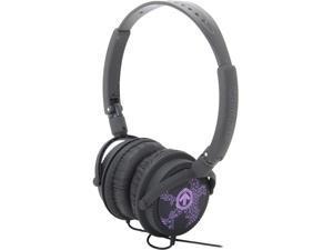 AERIAL7 MATADOR 3.5mm Connector On-Ear Headphone - Deep Purple