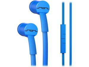 Sol Republic Electro Blue 1112-36 JAX In-Ear Headphones with 1-Button Mic and Music Control