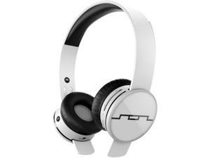 Sol Republic Ice White 1430-02 Tracks Air Wireless On-Ear Headphones with A2 Sound Engine