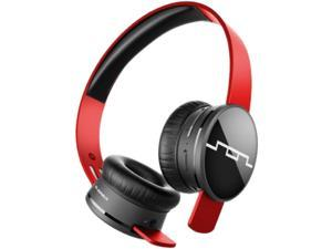 Sol Republic Vivid Red 1430-03 Tracks Air Wireless On-Ear Headphones