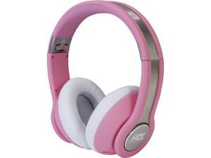 MTX  StreetAudio iX1 On-Ear Acoustic Monitor Headphones - Pink