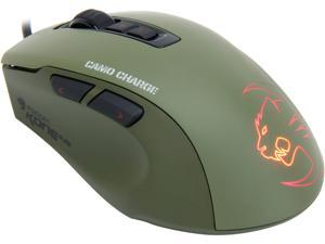 ROCCAT Kone Pure Military ROC-11-711 Green 7 Buttons 1 x Wheel USB Wired Optical Core Performance Gaming Mouse - Camo Charge