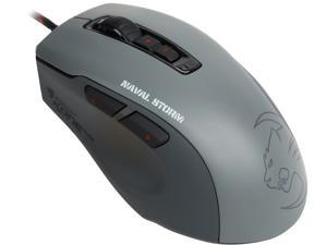 ROCCAT Kone Pure Military ROC-11-712 Naval Storm 7 Buttons 1 x Wheel USB Wired Optical Core Performance Gaming Mouse