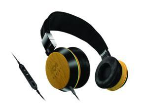 House of Marley EM-FH013-HA 3.5mm/ 6.3mm Connector On-Ear Stir It Up Headphone w/ Mic & 3-Button Controller