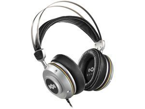 House of Marley Silver EM-DH003-IO 3.5mm Connector Circumaural TTR Over-Ear Headphones