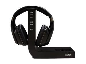VIZIO XVTHP200 Home Theater Headphones with Wireless Dock for iPod