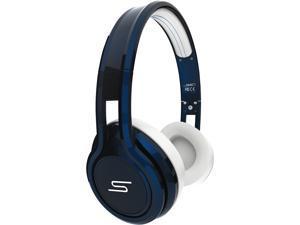 SMS Audio STREET by 50 Blue SMS-ONWD-BLU Wired On-Ear Headphones