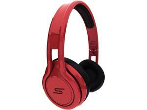 SMS Audio STREET by 50 Red SMS-ONWD-RED Wired On-Ear Headphones