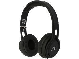 SMS Audio Black SMS-ONWD-SPRT-BLK STREET by 50 Wired On-Ear Sport Headphones
