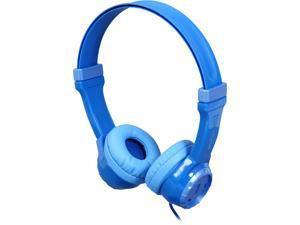 JLAB Blue JK-BLUE-BOX 3.5mm Connector Kids Volume Limiting Headphones