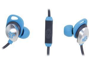 JLAB Blue/Graphite EPIC-BLUGRY-BOX Jbuds EPIC earbuds with 13mm C3 Massive Drivers and Customizable Cush Fins