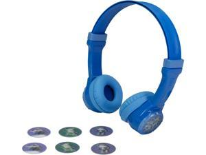 JLab JBuddies Kids Volume Limiting Headphones - Blue - JK-BLUE-RTL