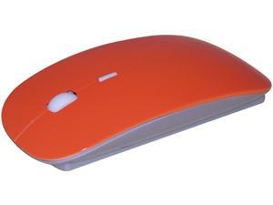 ROCKSOUL MS-102OSBT Orange Bluetooth Wireless Laser Bluetooth Mouse (Orange)