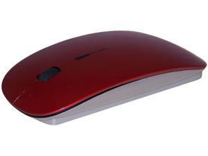 ROCKSOUL MS-102RSBT Red Bluetooth Wireless Laser Bluetooth Mouse (Red)
