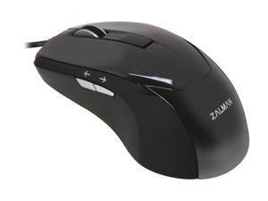 ZALMAN ZM-M200 Black 5 Buttons 1 x Wheel USB Wired Optical Mouse