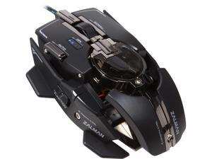 ZALMAN ZM-GM4 Black 8 Buttons 1 x Wheel USB Wired Laser Gaming Mouse