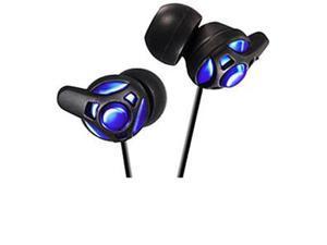 JVC Blue HAFX40A Binaural Headphone/Headset