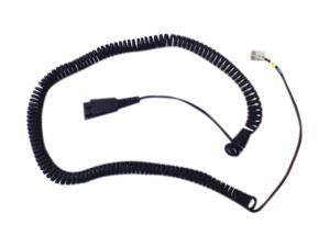 Jabra 01-0203 Quick Disconnect Connector Headset Coil Cable