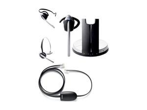 Jabra GN9350&CISCOHHC-KIT Single Ear GN9350 Headset with Cisco HHC Adapter Bundle