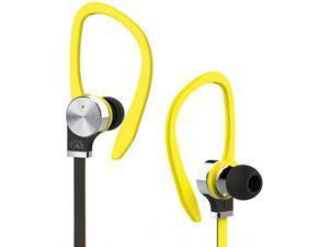 Fuji Labs Yellow AUFJ-SQNTS306YE 3.5mm Connector Sonique SQ306 Premium Titanium In-Ear Headphones