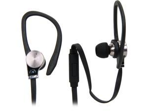 Fuji Labs Black AUFJ-SQWBS306BK Sonique SQ306 Premium Beryllium In-Ear Headphones with In-line Mic