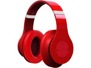 Fuji Labs Red AUFJ-W-HD2000-RE-E HD2000 Wireless Eco-Line Professional Stereo Headphones