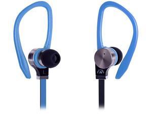 Fuji Labs AUFJ-PSQWTS306BL 3.5mm Connector Sonique SQ306 Premium Pure Titanium In-Ear Headphones with In-line Mic