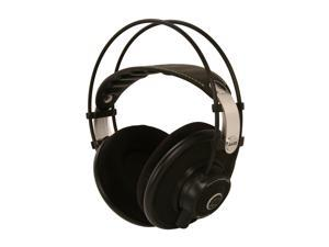 AKG Black with Lime Accents Q701BLK Over-Ear Quincy Jones Signature Line Reference-Class Premium Headphone (Black)