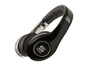 Soul by Ludacris Chrome SL150CB On-Ear High Definition Headphone - Chrome and Black