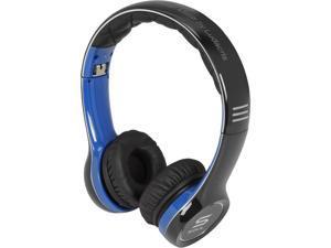Soul by Ludacris SL100UB On-Ear Ultra Dynamic Headphone - Blue and Black