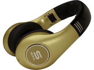 Soul by Ludacris SL300GGC Circumaural Elite Hi-Definition Noise Canceling Headphone - Gold and Gold w/Apple Controller Canada ...