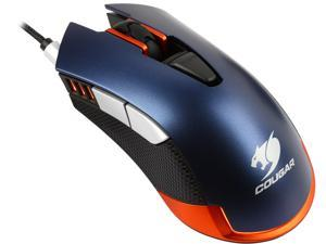 COUGAR 550M MOC550M Blue 6 Buttons 1 x Wheel USB Wired Optical Gaming Mouse