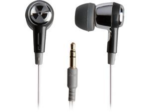 Ifrogz EarPollution Ozone EP-OZONE-SB-09 3.5mm Connector Canal Headphone (Silver / Black)