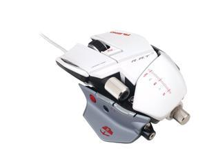 Cyborg White Wired Laser Mouse