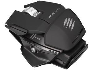 Mad Catz R.A.T. M MCB437100002/04/1 Matte Black 1 x Wheel USB Bluetooth Wireless Laser Mobile Gaming Mouse