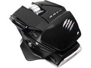 Mad Catz R.A.T. M MCB4371000C2/04/1 Glossy Black Laser Mobile Gaming Mouse
