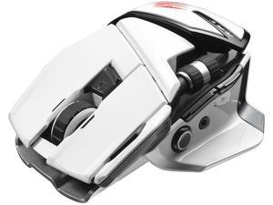 Mad Catz Office R.A.T. MCB437240001/04/1 White 1 x Wheel Bluetooth Wireless Laser Mouse for PC and Android