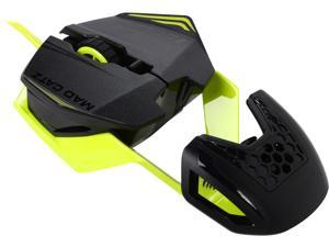 Mad Catz R.A.T.1 MCB437260006/06/1 Green 6 Buttons Wired Gaming Mouse
