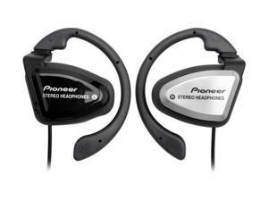 Pioneer SE-E33-X1 Ear Clip Silver/Black Sports Headphone