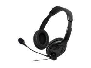 Gear Head AU3700M 2.5mm/ 3.5mm Connector Circumaural Universal Multimedia Headset with Microphone