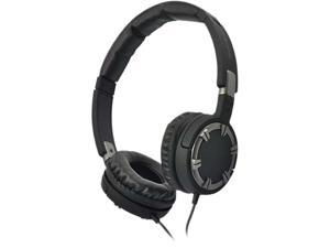 Gear Head Black HS2750S Medium Bass Stereo Headphones with Noise Isolation