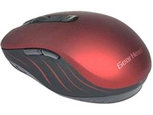 Gear Head BT9750RED Bluetooth Optical Smart Mouse - Red