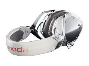 V-MODA Crossfade LP Over-Ear Metal Headphones in White Pearl
